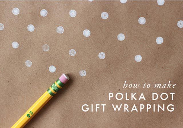 Manualidad: Crea tu papel de regalo con motas - Manualidades de papel y cartón - Manualidades para niños - Charhadas.com