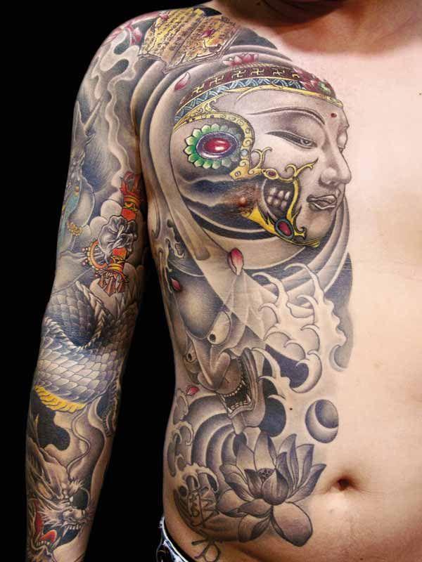 Asian style tattoo pics