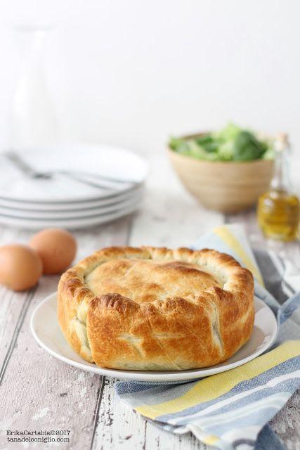 La tana del coniglio: Torta Pasqualina con spinaci