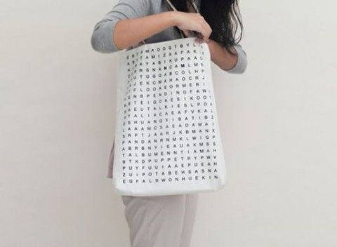 Crossword Puzzle Tote / yup iu0027m a huge crossword puzzle nerd. & 77 best Gift Ideas images on Pinterest | Puzzles Gift boxes and ... 25forcollege.com