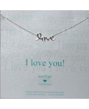 Heart to Get Ketting zilver | Puur dameskleding