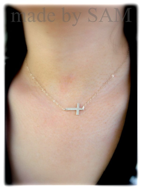 Sideways cross necklace palace oldest and