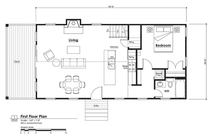17 best images about small house on pinterest earth for Lofted cabin plans