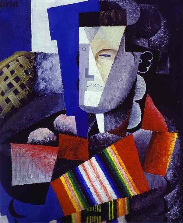 'The Cubist Paintings of Diego Rivera: Portrait of Martín Luis Guzmán (1915). http://arthistorynewsreport.blogspot.co.uk/2012_09_01_archive.html