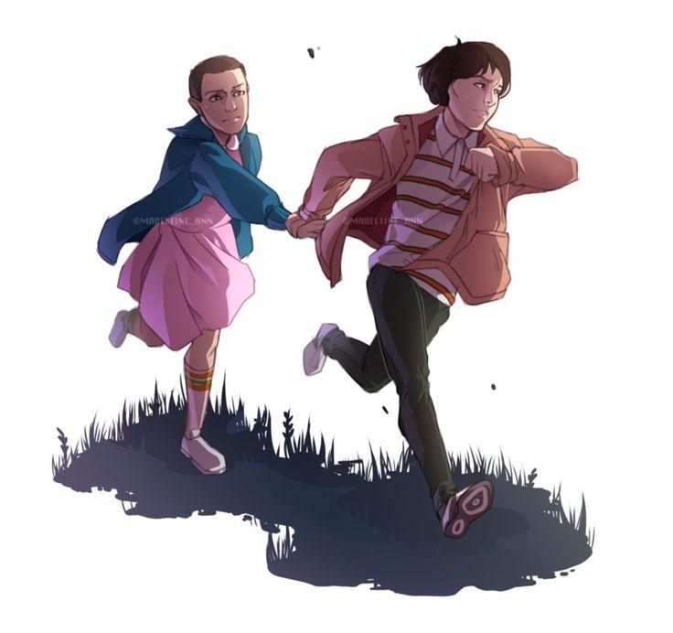 A token fanart/ sketch of Eleven and Mike from Stranger Things! Enjoy! ________ My Twitter twitter.com/Madeliine_Ann My Newgrounds cookiethecrusher.newgrounds.co… My Instagram instagram.com/...