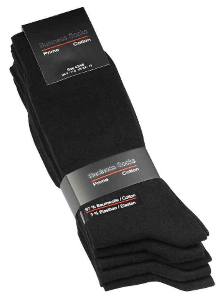 Herren Busines-Socken 97% Baumwolle 3% Elasthan