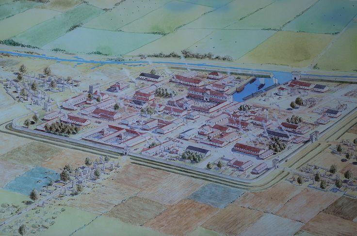 In Zuid-Holland lag, op de plaats van het huidige Voorburg, één stad met typisch Romeinse kenmerken: Forum Hadriani. Deze stad was ommuurd en de plattegrond had de vorm van een schaakbord, met een forum (stadsplein) in het midden. Daaromheen lagen onder andere tempels, een rechtbank en een badhuis. Vermoedelijk woonden er niet meer dan 1500 mensen.
