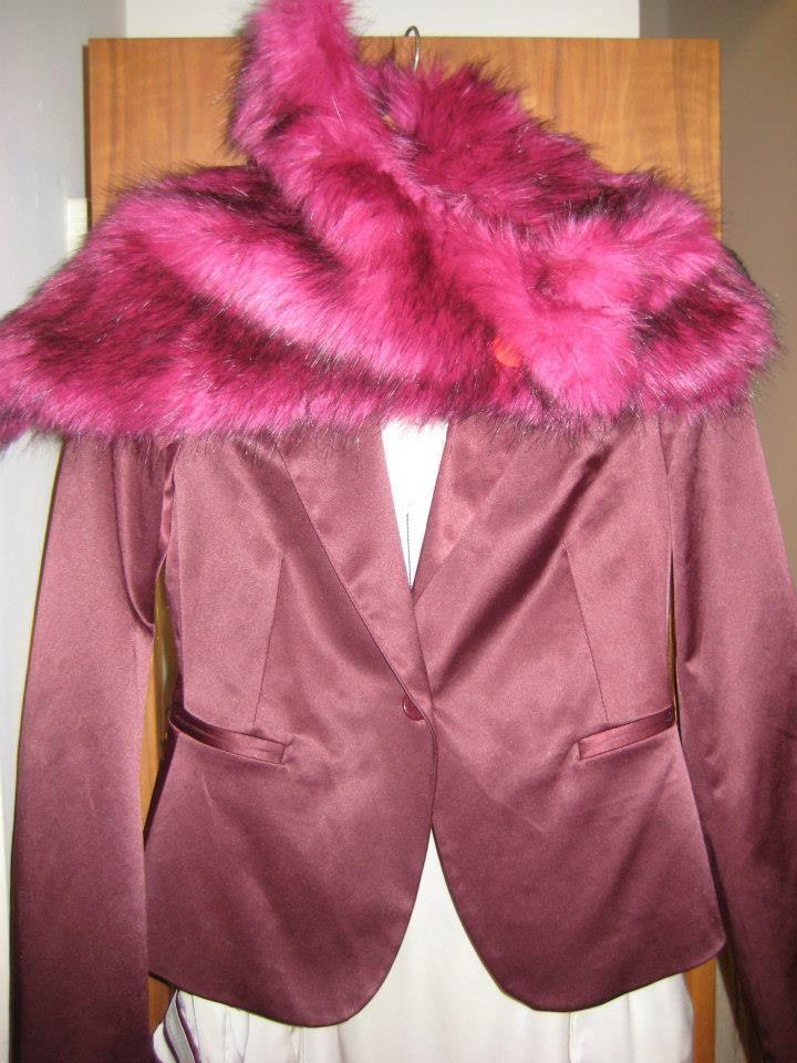 Fake fur in lekker kleurtje
