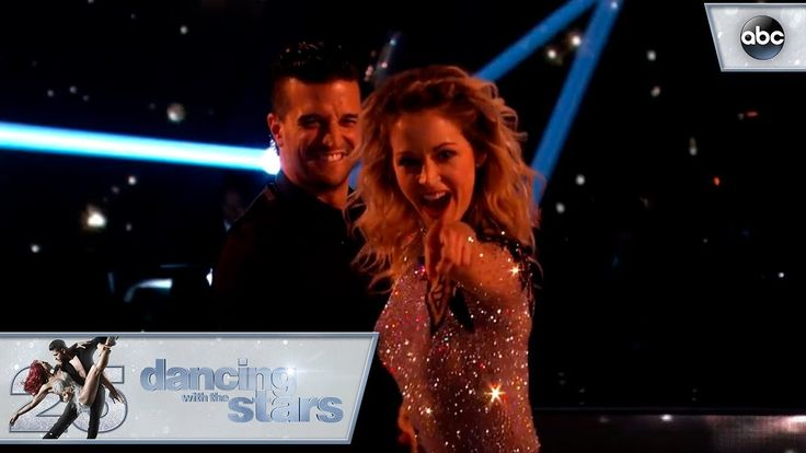 "Lindsey Stirling and Mark Ballas dance the Cha​ ​Cha to ""Don't​ ​Worry"" by Madcon​ ​ft.​ ​Ray​ ​Dalton on Dancing with the Stars' Season 25 premiere! 2017"