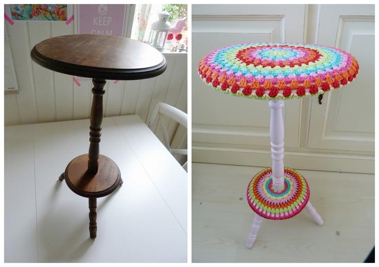 Ilonas blog: Kruk make-over, stool make over