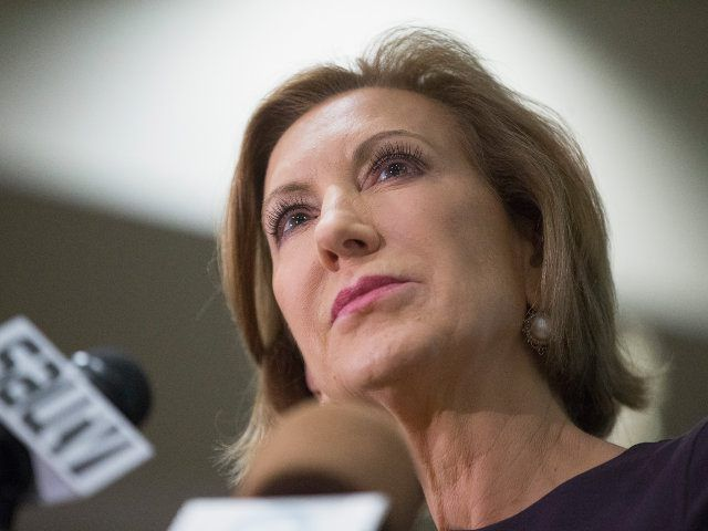 """Carly Fiorina challenged Hillary Clinton to watch a video showing """"a fully formed fetus on the table, its heart beating, its legs kicking."""""""