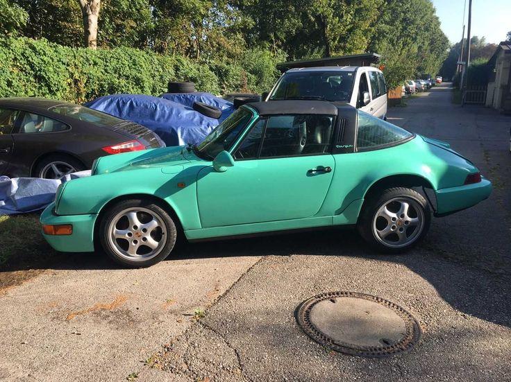 Porsche 911 Targa 1977 Im 964 Look Ohne Antrieb