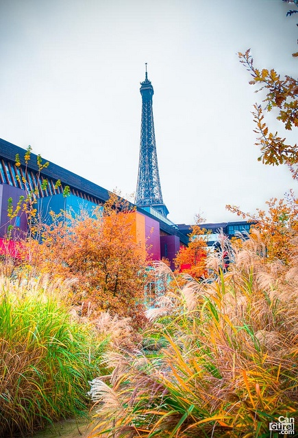Eiffel Tower from the Musée du Quai Branly by Can Gurel, via Flickr