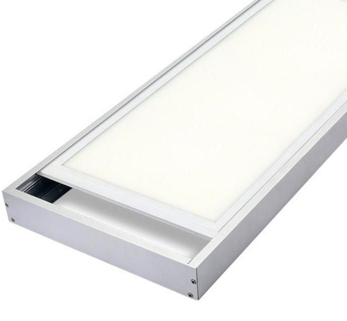 Led Panel Light Can Be Surfaced Mounted On The Ceiling By Using Aluminum Surface Mounted Frame Please Contact To Fenix Litestarled Com