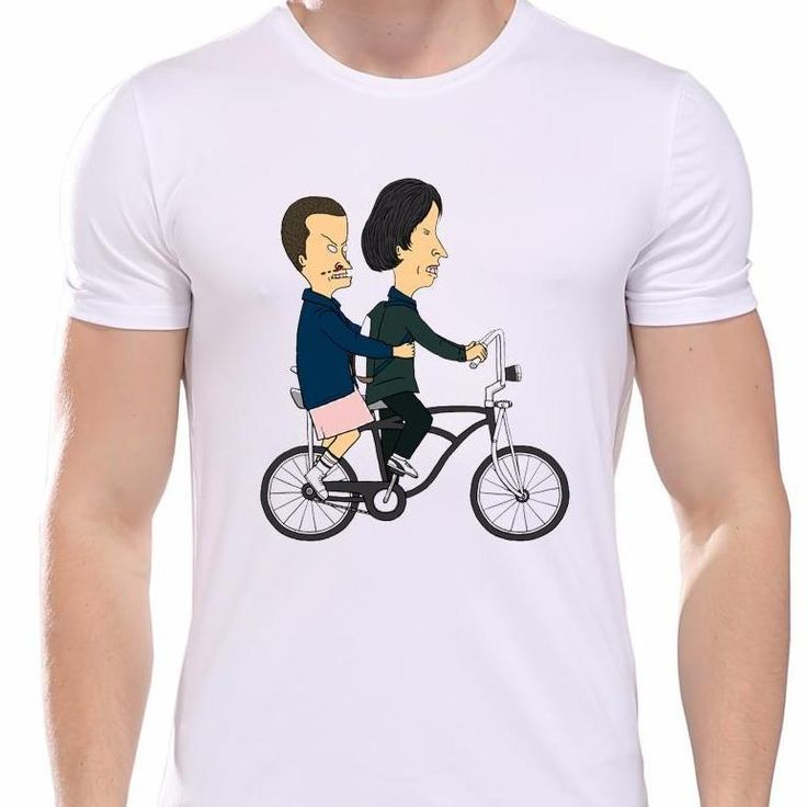 Stranger Things Funny T-Shirt - Beavis and Butthead Parody