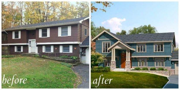 Retro Ranch | 5 Curb-Appeal Before And Afters That'll Knock Your Socks Off                                                                                                                                                                                 More