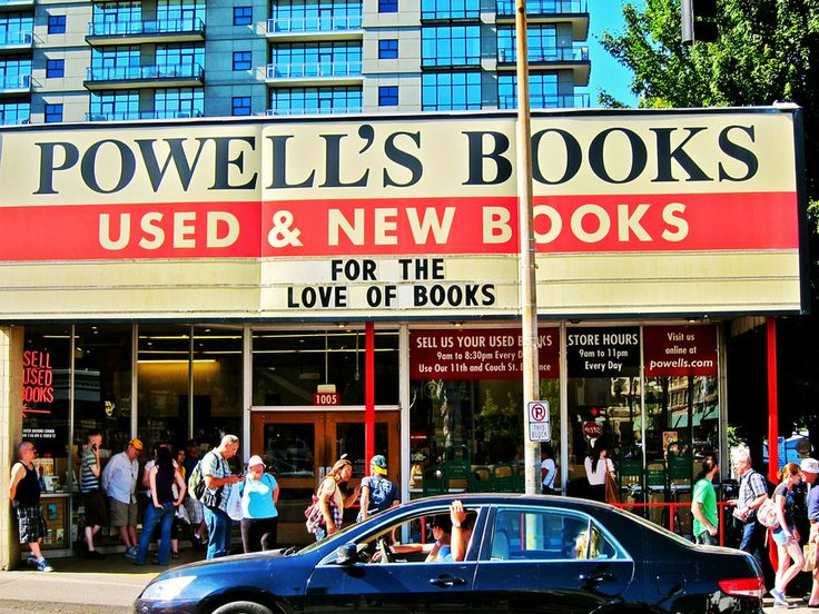 I want to go to there. Powell's Books in Portland, Oregon | 17 Bookstores That Will Literally Change Your Life