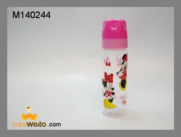 M140244  Botol susu karakter minnie mouse  BPA Free  ukuran: 250ml  warna sesuai gambar  IDR 50*