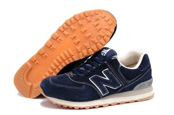Joes New Balance ML574NNA Sneakers SuedeAnti-Winter Series Blue Black Mens Shoes