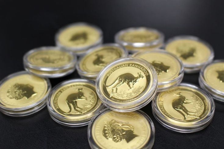 these 1oz gold australian kangaroo s have been minted since 1989 and mintage quantities tend to