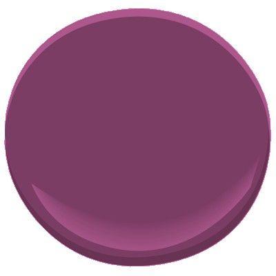 Benjamin Moore Paint Color - summer plum