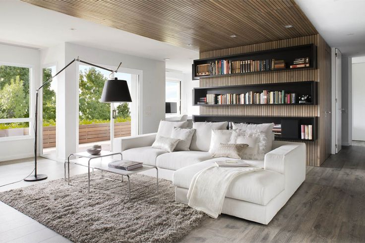 Nice mix of textures in this Barcelona living room via @Freshome