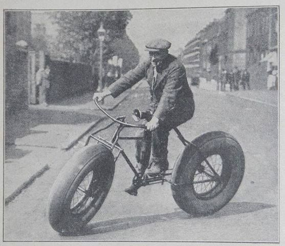 So the fat bike is nothing new after all. Classic. #fatbike #bicycle
