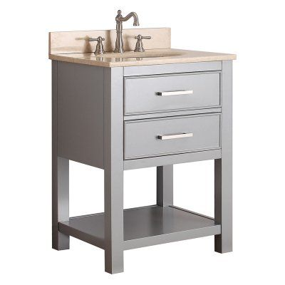 Image Of Avanity BROOKS VS CG Brooks in Single Bathroom Vanity BROOKS VS CG B Bathroom vanities Products and Tops