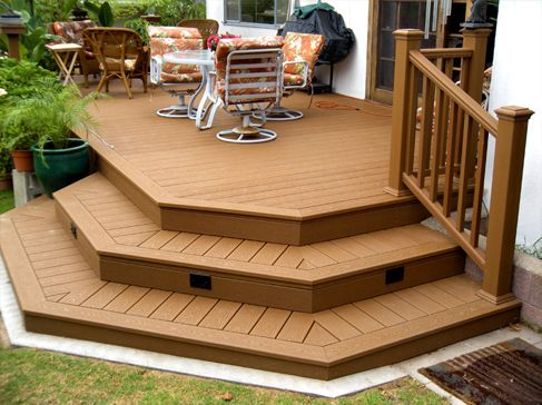17 Best Images About Landscape Patio Decking On