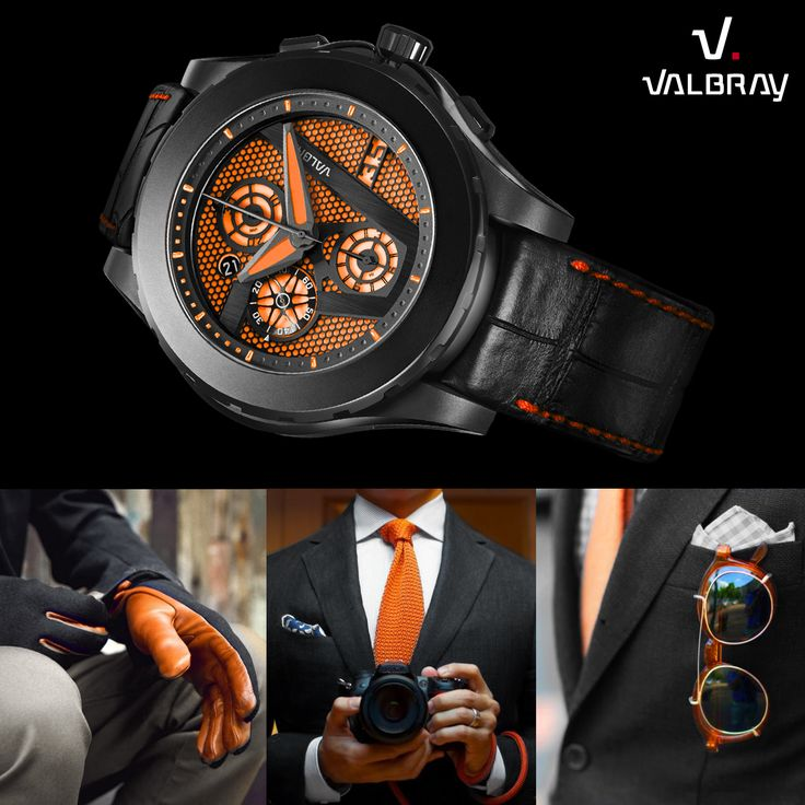 Combination of style with the Oculus Chrono Hypnosis Orange ! What do you think guys !? http://valbray.ch/watch/hypnosis-orange