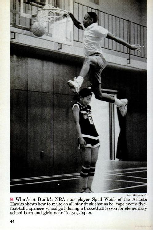 """Spud Webb, At 5'7"""" his courage to break the barriers was unremarkable in not just an athlete but as a human being"""