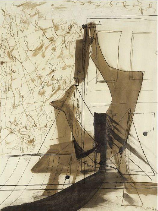 Francis Bacon, Corner of the Studio, 1934