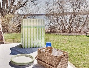 Clean Cubes Disposable Bin-6 Pack Picnic Pattern - contemporary - kitchen trash cans - Clean Cubes LLC
