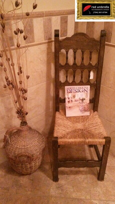 Wicker chair $48