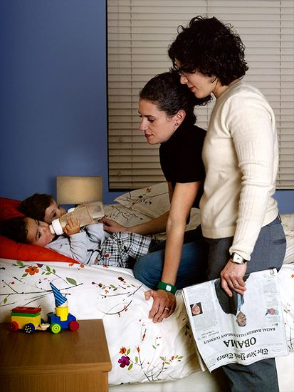 I chose this blog based on two lesbian moms who share their experiences and advice. In this particular blog about how straight parents should explain queer families, it focuses on the approach one should take in asking questions but also the boundaries one should have. I think this article is very similar to the documentary we watched in class because it's informing us on a different lifestyle than our own. It was very useful to see how one's perspective can change through someone else's…