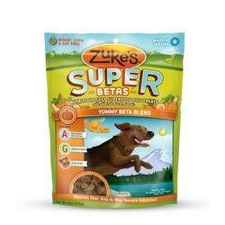 Zuke's Soft Superfood Beta Dog Treats (12x3Oz)