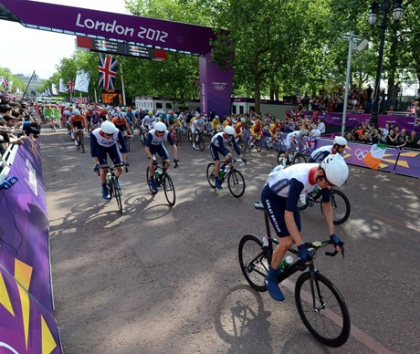 London 2012 Olympics: Sir Chris Hoy, Bradley Wiggins, Mark Cavendish and Co leave Team GB athletics in the shade - Telegraph