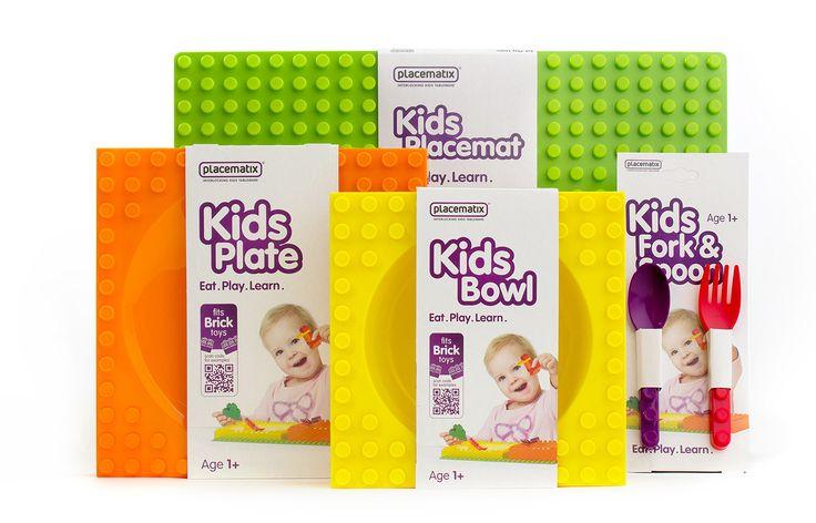 Placematix - BooM creatives | branding & design.  #communicatie #communication #artwork #structurele_verpakking #Placematix #kids #tableware #ontwikkeling #spelenderwijs #Eat #Play #Learn #QRcode