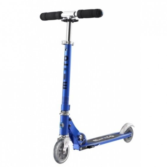 Microscooters - Sprite All Rounder Sapphire Blue #Entropywishlist #pintowin Our eldest child has sadly outgrown his very much loved and well worn mini-micro scooter.  He is off to school next year and this super cool, grown-up-boy scooter is on the top of his Santa wishlist!