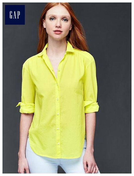 Shirred shirt