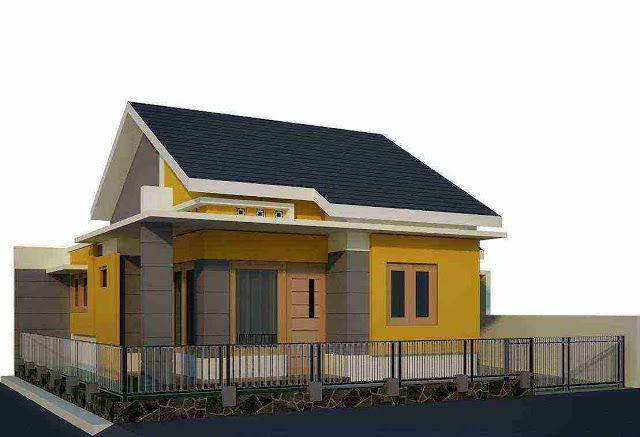 Bentuk Rumah Sederhana Ukuran 6 X 9 Berkonsep Minimalis Di 2020 | Desain  Rumah, Rumah Minimalis, Denah Rumah
