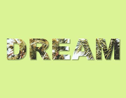 """Check out new work on my @Behance portfolio: """"#dream Text mask in Photoshop"""" http://be.net/gallery/48264895/dream-Text-mask-in-Photoshop"""