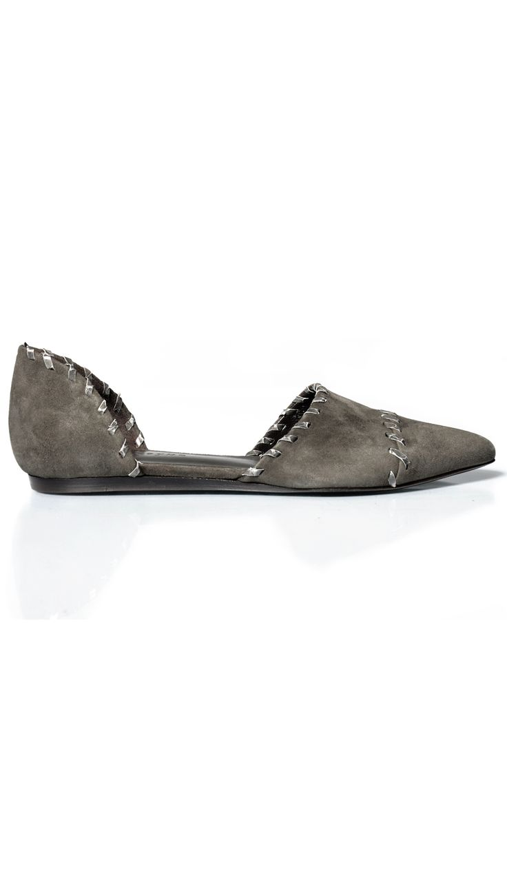 Dreaming...wish there was a more affordable version of these. Whipstitch D'Orsay Flat | Jenni Kayne | Store