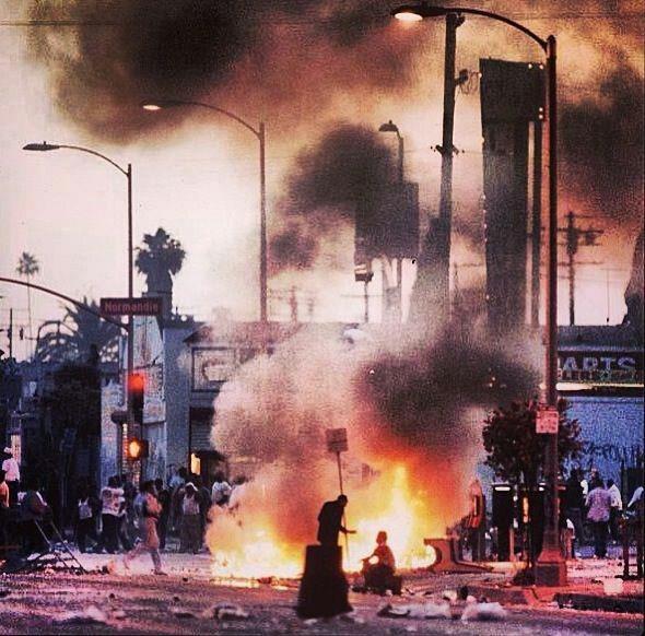 L.A.  Riots April 29,1992.