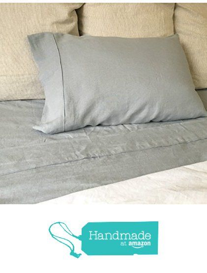 Duck Egg Blue Bed Sheets, Natural Linen Bed Sheets, Natural Linen Bedding, Top Sheet, Fitted Sheet, Bed Sheets Set, Queen Bed Sheets, King Bed Sheets, California King Bedding, Twin Bed Sheets from SuperiorCustomLinens http://www.amazon.com/dp/B01AQS7R8I/ref=hnd_sw_r_pi_dp_kconxb1D81WSB #handmadeatamazon