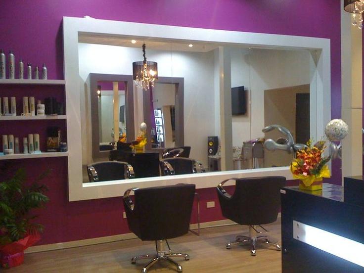Love The Large Mirror Idea Home Hair Salons Nail Salon
