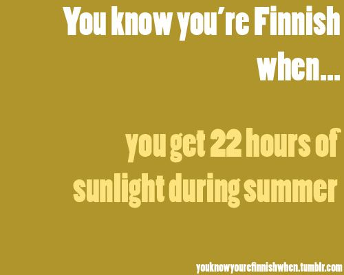 The Midnight Sun lives in some parts...and almost exists in others.