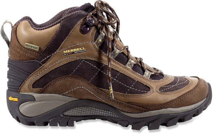 Womens Wide Waterproof Hiking Boots 60
