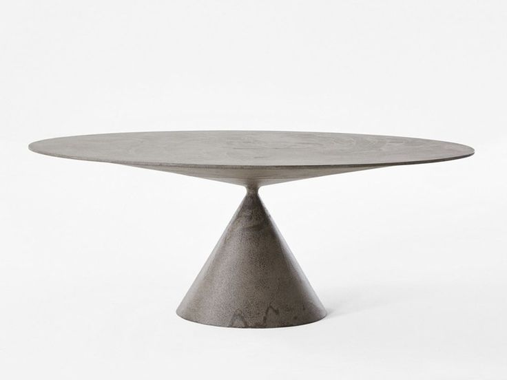 CLAY Table ovale by Desalto design Marc Krusin