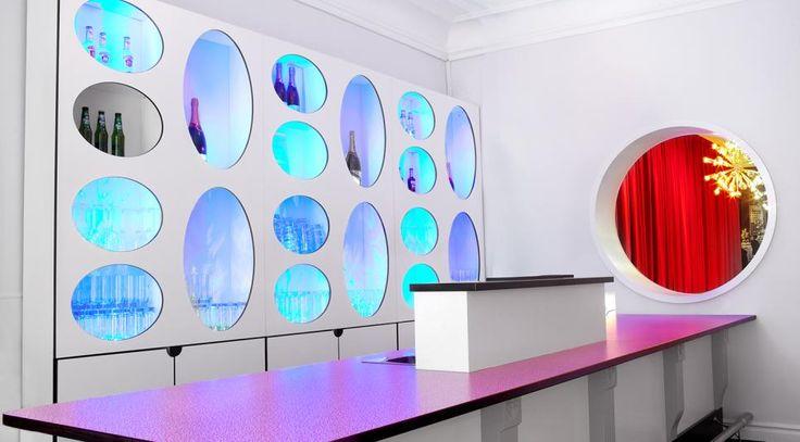 Formica® Collection decors, used in Stadskällaren bar (Arboga, Sweden)